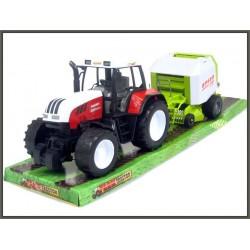 Traktor z przyczepą 80cm