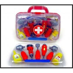 Zestaw lekarz w walizce