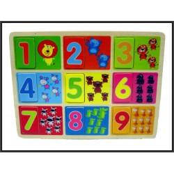 Puzzle drewniane 30x22,5cm
