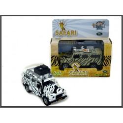 Land Rover Safari ze światłem i dźwiękiem