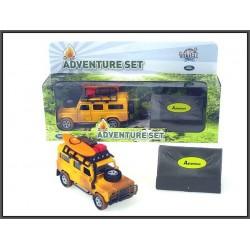 Land Rover z namiotem