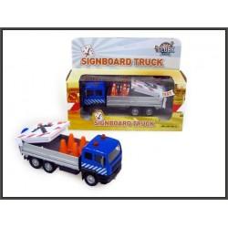 Ciężarówka 15cm Pomoc Drogowa ze światłem