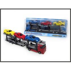 Autotransporter z 3-ma autami