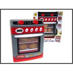 Kuchenka elektryczna z piekarnikiem 18cm ze światłem i dźwiękiem