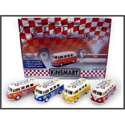 VW Classical Bus Peace & Love 12cm