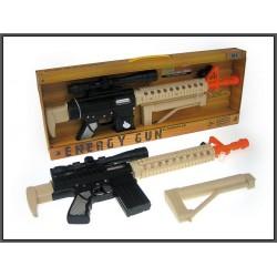 Pistolet M4 56cm ze światłem i dźwiękiem