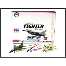 Samolot F-16 światło,dżwięk